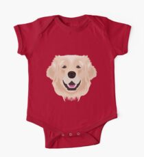 Golden Retriever  One Piece - Short Sleeve