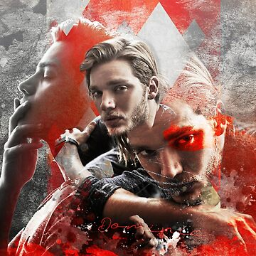 Design - Dominic Sherwood by GraphicallyS
