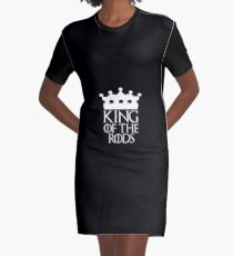 King of the Rods, #Rods  Graphic T-Shirt Dress