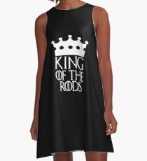 King of the Rods, #Rods  A-Line Dress