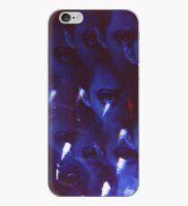 Swirls in Dark - analog 35mm color film photo iPhone Case