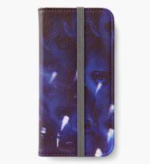Swirls in Dark - analog 35mm color film photo iPhone Wallet/Case/Skin
