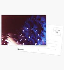 Swirls in Dark - analog 35mm color film photo Postcards