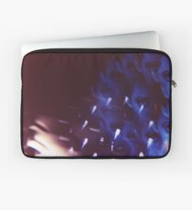 Swirls in Dark - analog 35mm color film photo Laptop Sleeve