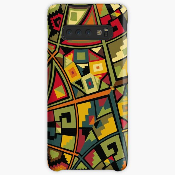 African Traditional Fabric Design Samsung Galaxy Snap Case