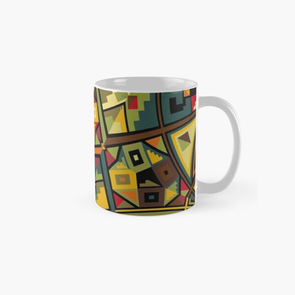 African Traditional Fabric Design Classic Mug