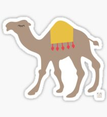 Dromedary by KAI Copenhagen Sticker