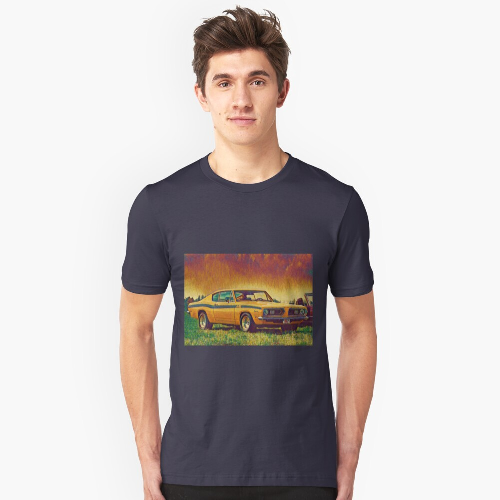 1969 Plymouth Barracuda 440 Slim Fit T-Shirt