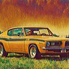 1969 Plymouth Barracuda 440 by Fran Lafferty