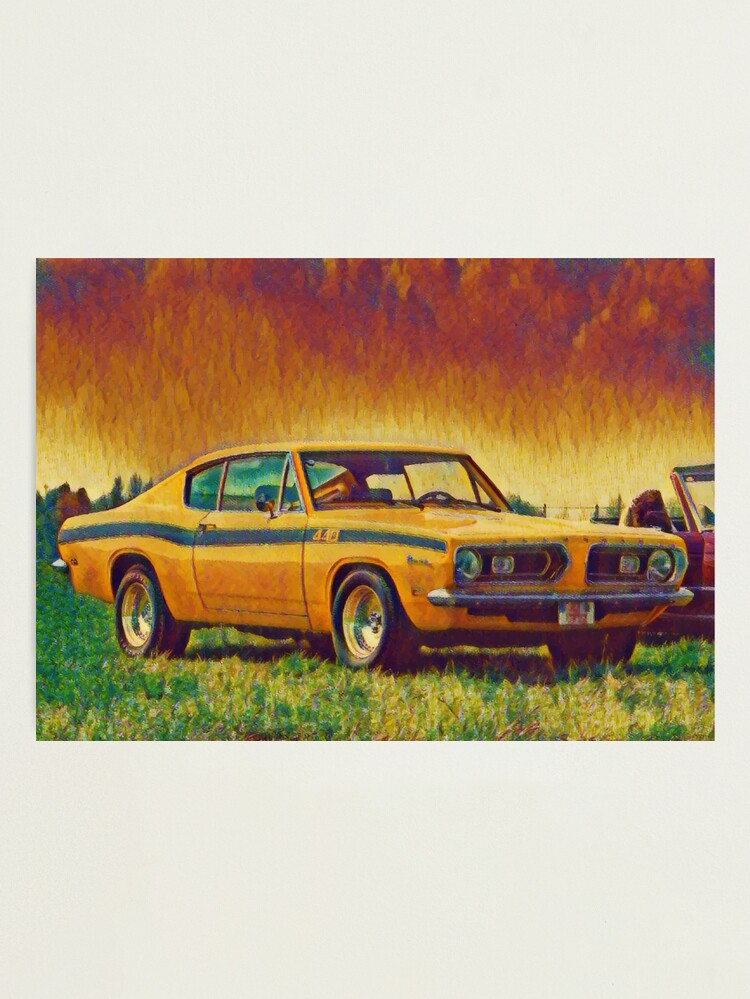 Alternate view of 1969 Plymouth Barracuda 440 Photographic Print