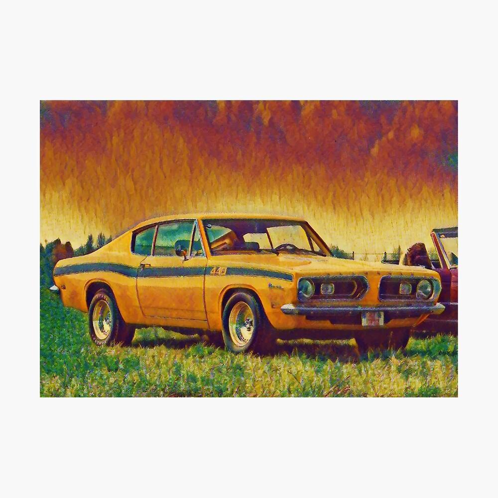1969 Plymouth Barracuda 440 Photographic Print