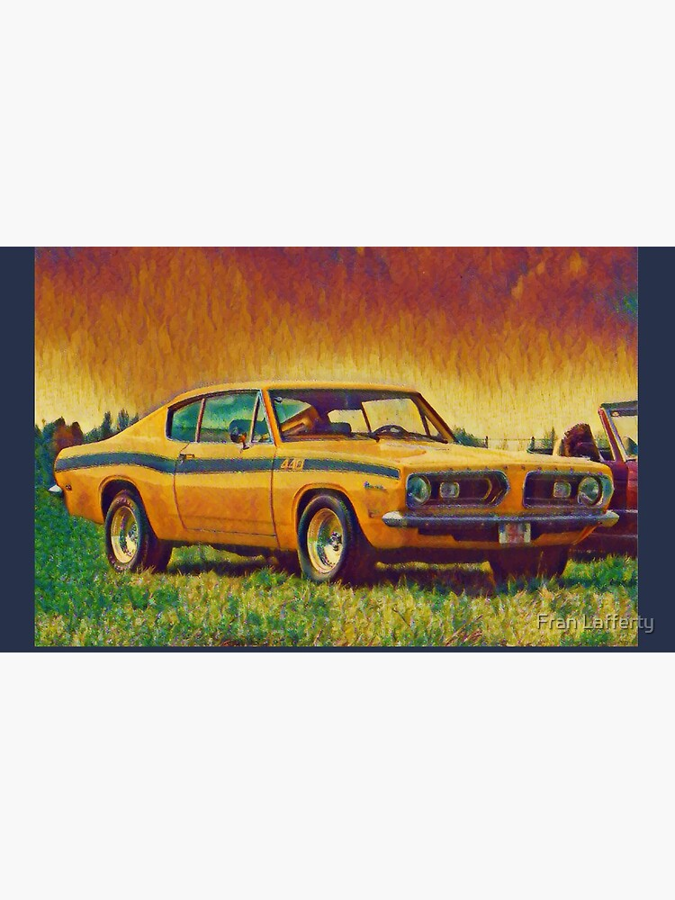 1969 Plymouth Barracuda 440 by FranLafferty