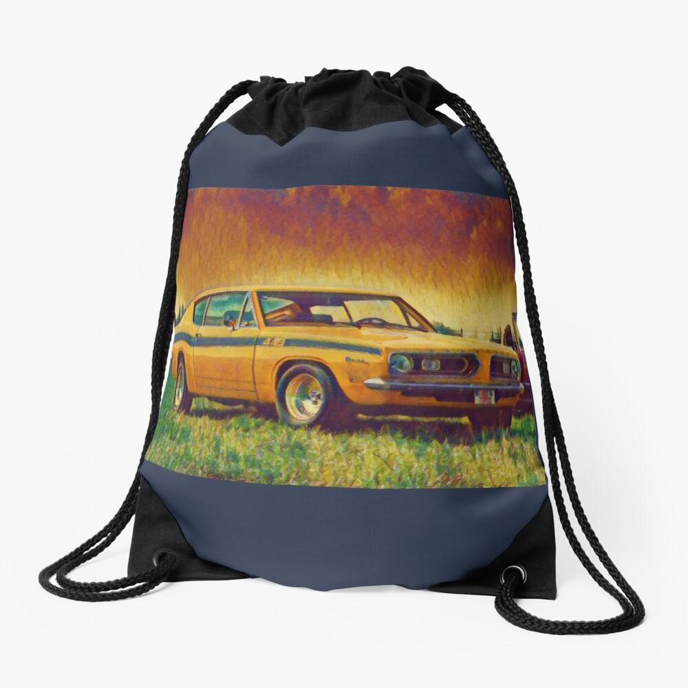 1969 Plymouth Barracuda 440 Drawstring Bag