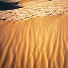 Fiery desert sand by Silvia Ganora