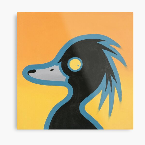 Tufted Duck Metal Print