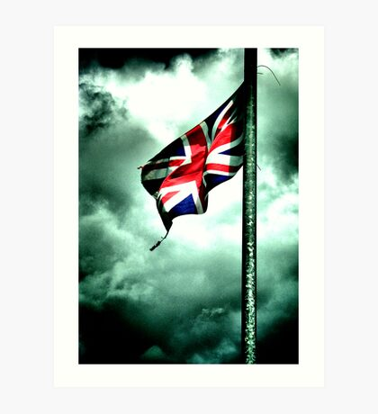 battered and torn ..... GB's old glory !!! Art Print