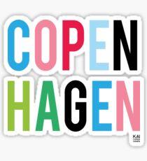 COPENHAGEN by KAI Copenhagen Sticker