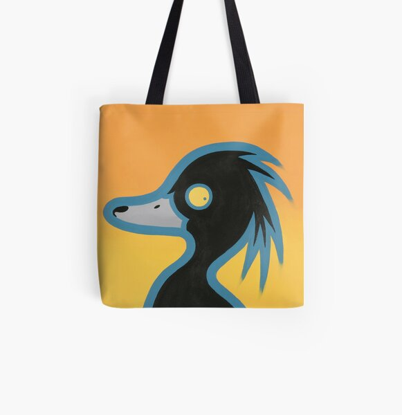 Tufted Duck All Over Print Tote Bag