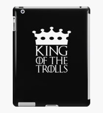 King of the Trolls, #Trolls  iPad Case/Skin