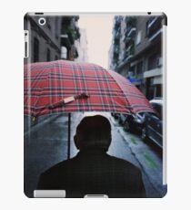35mm c41 analog film darkroom photo old man in street iPad Case/Skin