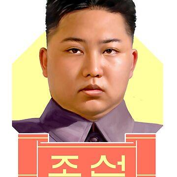 Kim Jong Un by GongAuGung