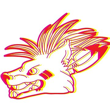 Red XIII Magenta Yellow by susiedraws