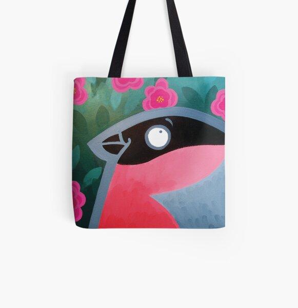 Bullfinch All Over Print Tote Bag