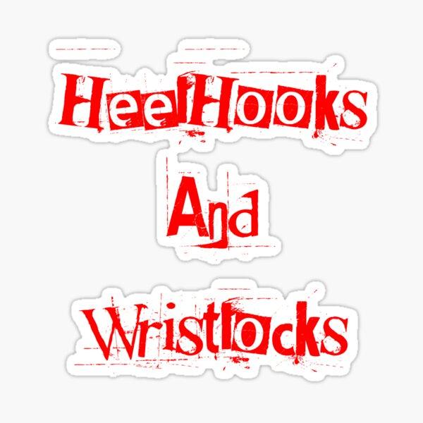Heelhooks&Wristlocks Sticker