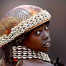 HAMAR GIRL - ETHIOPIA by Michael Sheridan