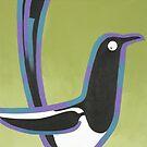 Magpie by Christine Jopling
