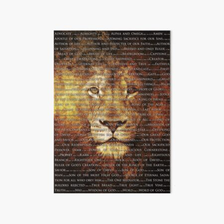 The Names of God Art Board Print