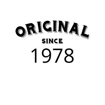 ORIGINAL | 1978 Birthday Shirt by CarlosV