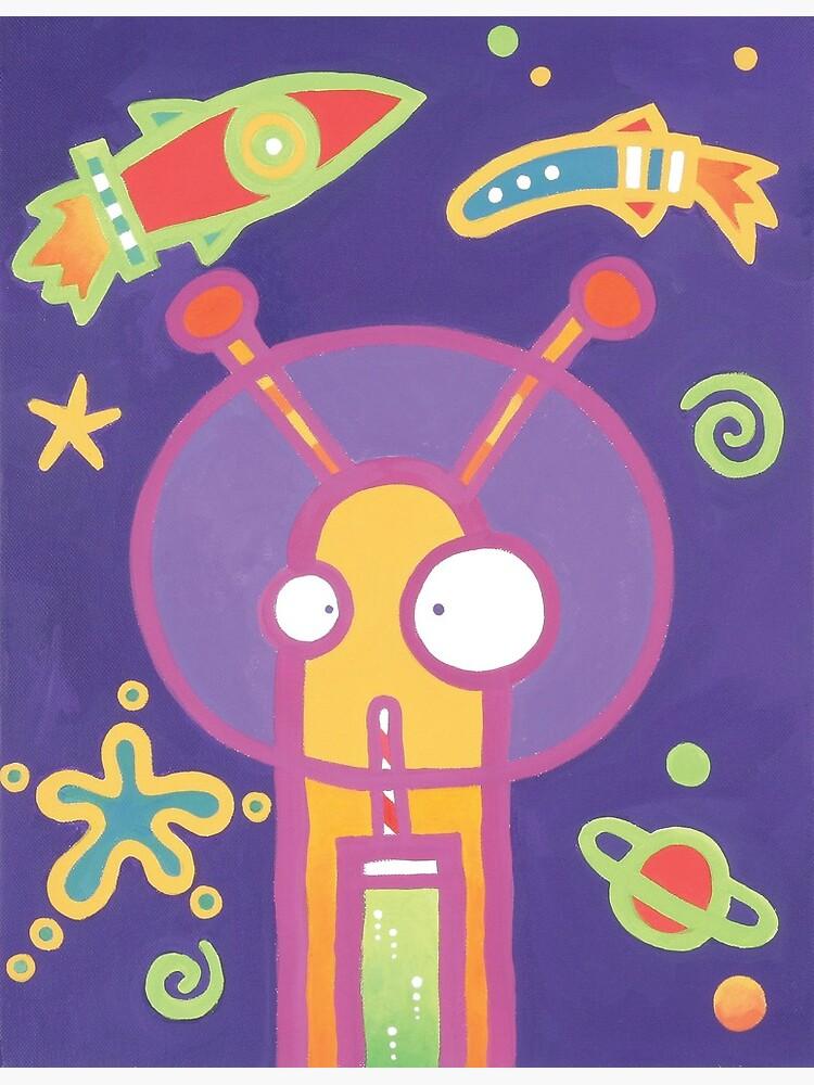 Space Alien Worm Juice by ChristineJop