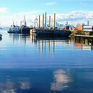 Floating Dock - Williamstown, Vic.  by EdsMum