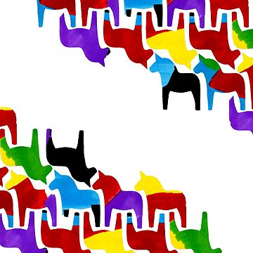 Dala Horse Pattern by sarahmca