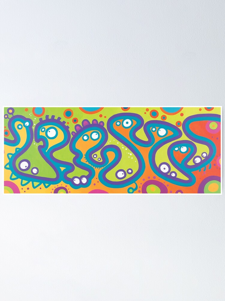 Alternate view of Doodly Dozen Poster
