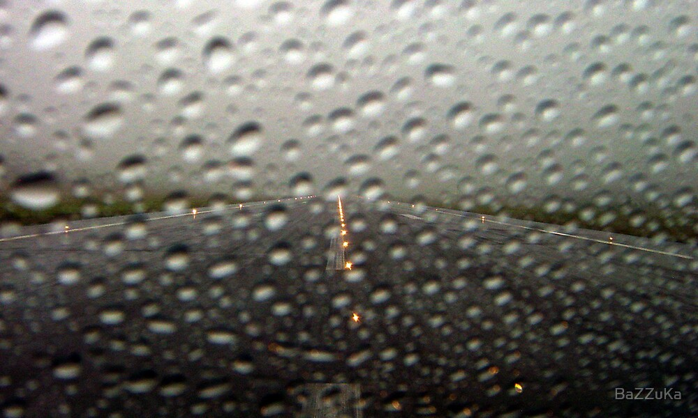 Take Off  at Oporto rainning....... Portugal by BaZZuKa