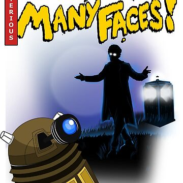 Dr, who has many faces! by goldchoconite
