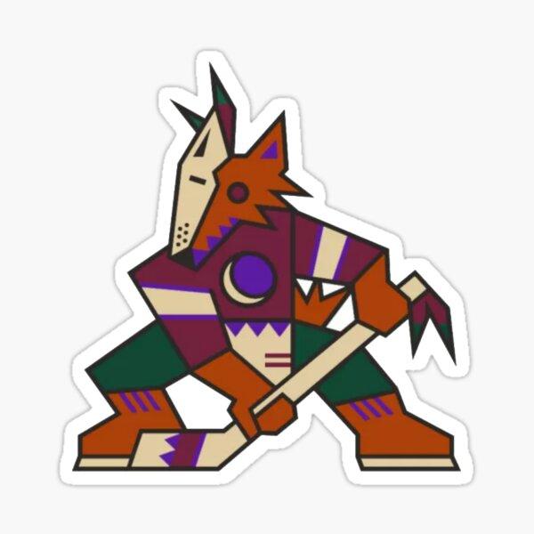 Arizona Coyotes - Kachina Logo Sticker
