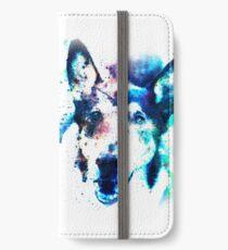 White Galaxy iPhone Wallet/Case/Skin