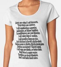 Tom Haverford Quote - Parks and Rec  Women's Premium T-Shirt