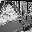 Perrine Bridge over the Snake river . by Borror