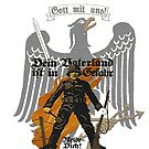 """Eagle with Soldier """"Your country is in Danger"""" by edsimoneit"""
