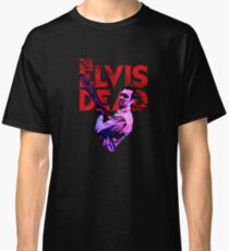 The Elvis Dead - 'Chainsaw Snarl' Classic T-Shirt