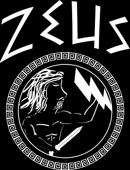 """""""The Ancient Symbol of Zeus - Greek God of the Sky, King ..."""
