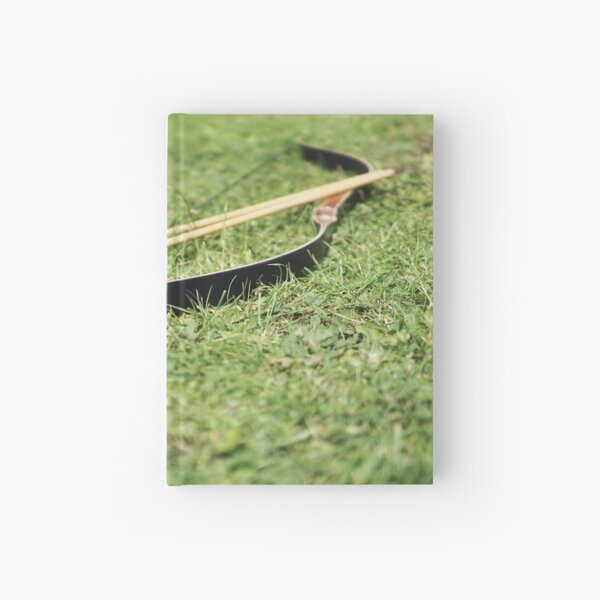 Bow and arrows Hardcover Journal