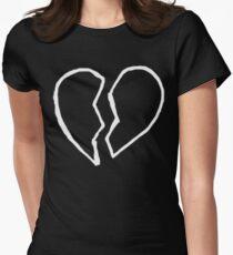 XXXTENTACION - Broken Heart tattoo Women's Fitted T-Shirt