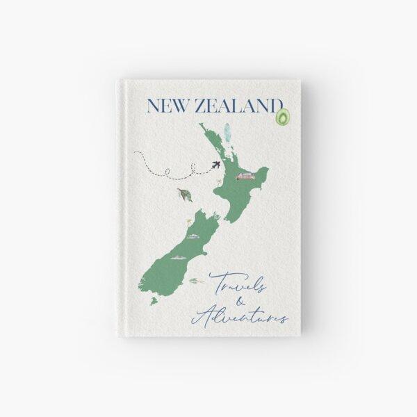 New Zealand Travel Journal-2019 Hardcover Journal