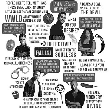 Lucifer Character Quotes by jamierose89