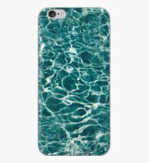 Light Blue Underwater Wavy Rippling Water Cloudy Flaming Smoke Smokey Water iPhone Case
